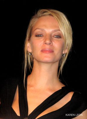 Uma Thurman: A presenter at the event.
