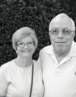 Back to Work: Madoff victim- Judy Rafferty, pictured here with her husband, Don, has hadtotakeajobasalegal secretary at age 67.