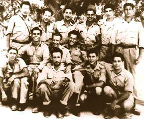 HERE TO HELP: Machalniks arriving in August 1948 on the ship known as the Pan York, aka Kibbutz Galuyot ? the ingathering of the exiles.