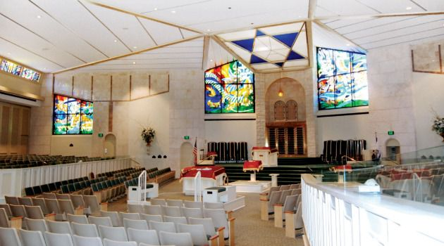 The Baron Hirsch sanctuary can seat up to 1000 congregants.