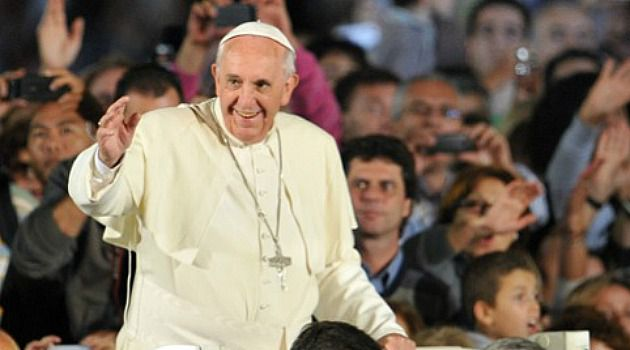 Superstar: Pope Francis is breaking through.