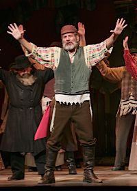 Chaim Topol performs as Tevye in a 2005 Australian production of ?Fiddler on the Roof.?