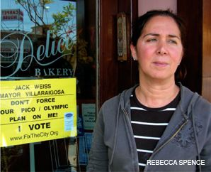 PICO SOUR: Los Angeles bistro owner Solange Bohbot says that new parking restrictions would decimate her Pico Boulevard business.